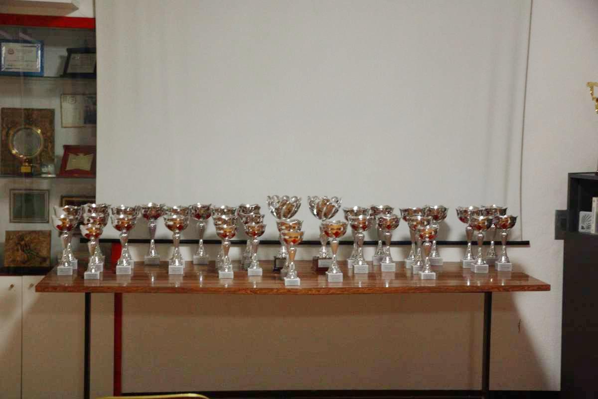 Premiazioni campionati sci