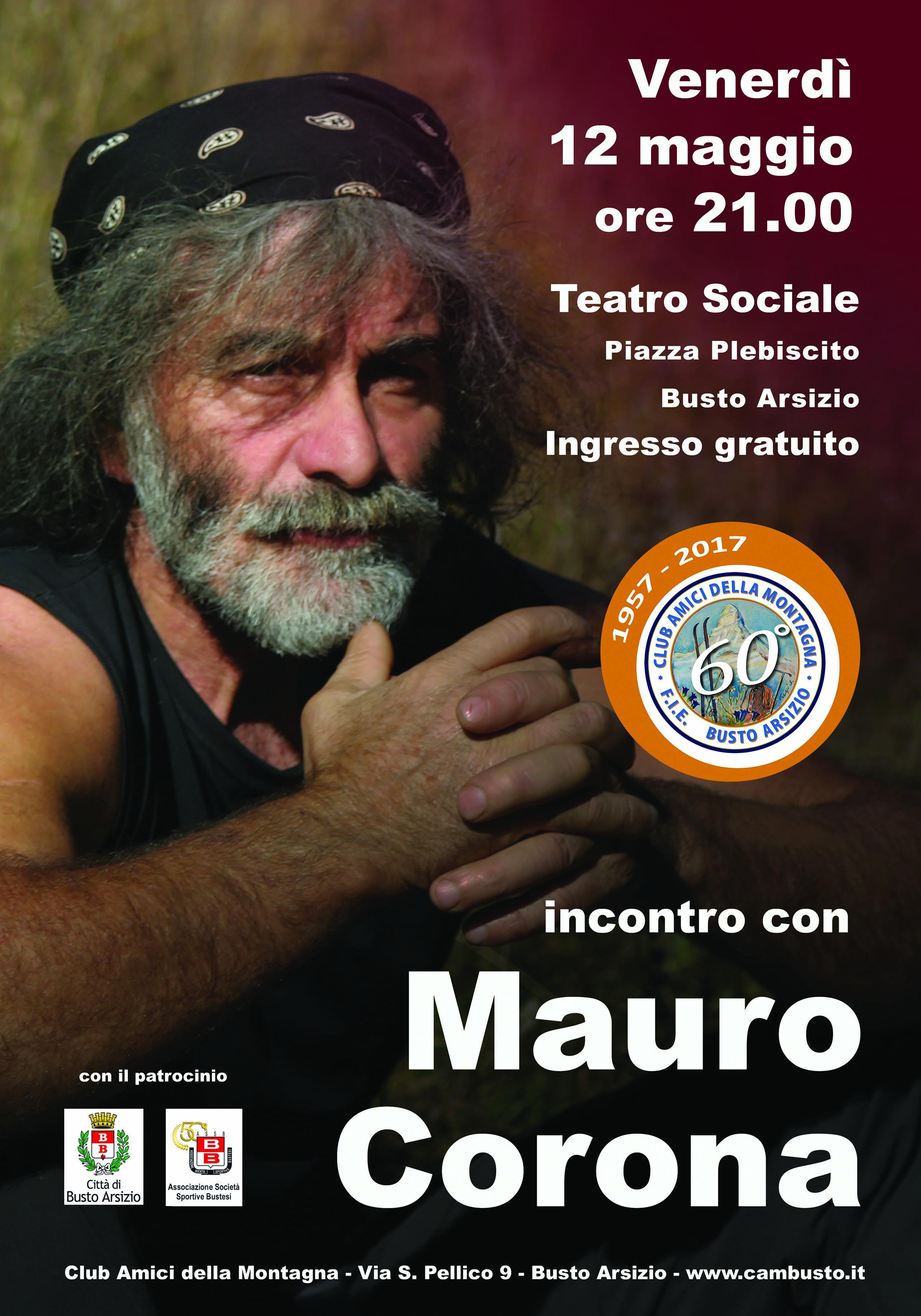 Il Cam e Mauro Corona