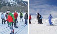 Ultima domenica dei corsi sci